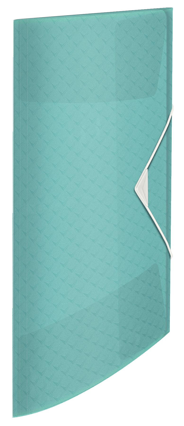 3-klap elastikmappe Colour\'Ice PP A4 blå